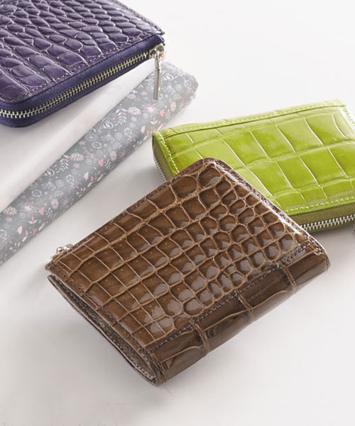 クロコダイル コンパクト財布