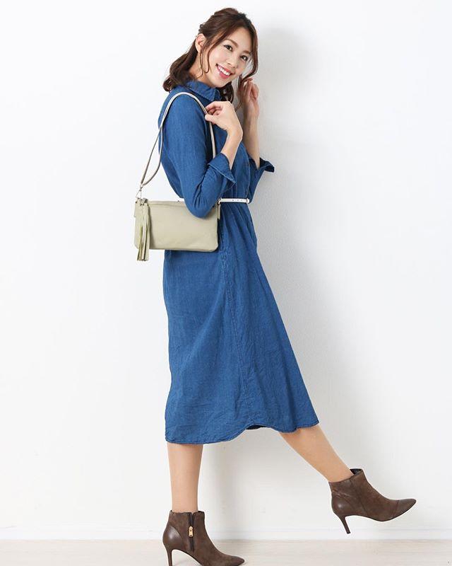 この夏はこれ!本革ショルダーバッグ♬----------------------No.07000194r#おしゃれ #ファッション #モデル #可愛い #コーデ #コーディネート #セレブ #大人可愛い #ブランド #箕面 #三京商会 #r_fashion #fashion #かわいい #model #cute #洋服 #20代 #30代 #春夏 #casual #カジュアル #coordinate #バッグ #ショルダーバッグ