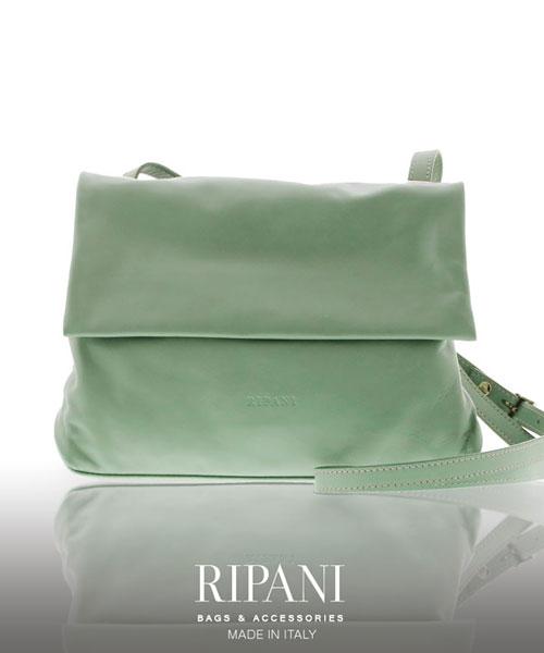 RIPANI/リパーニ イタリア製 牛革 ショルダーバッグ