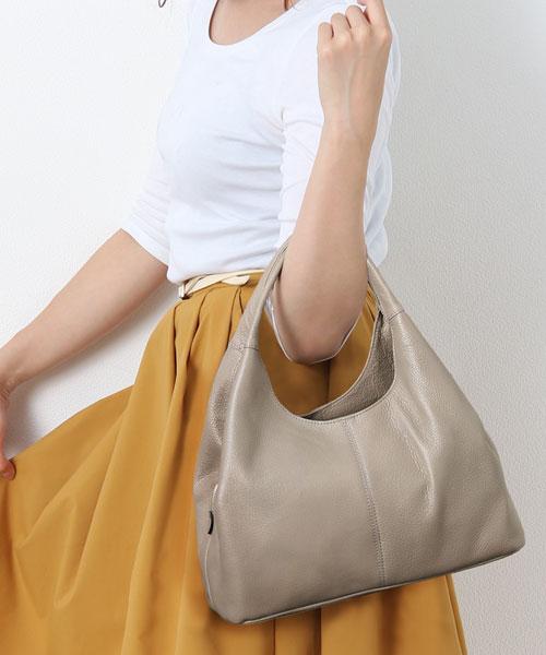Jamale/ジャマレ 日本製 牛革ハンドバッグ