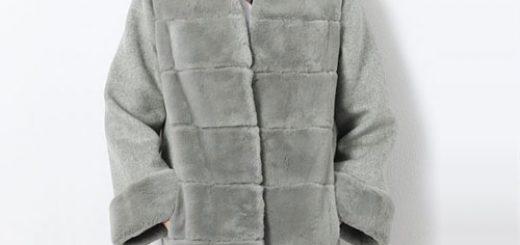 レッキス ファー & ウール コート