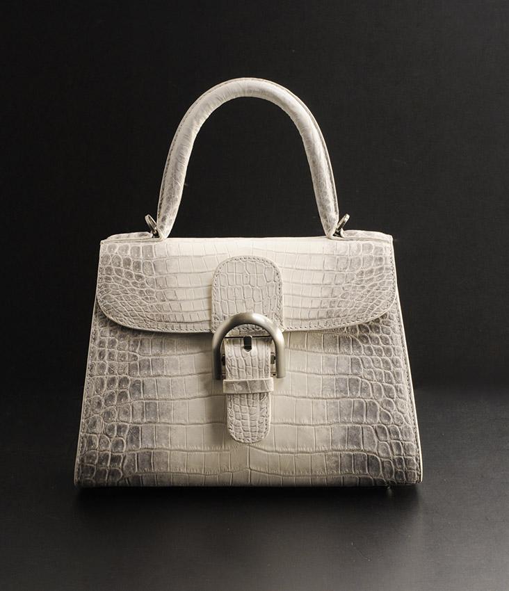 ヒマラヤ クロコダイル ハンドバッグ