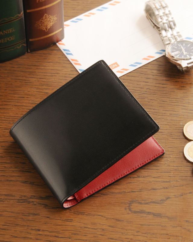 PRAIRIE/プレリー コードバン 二つ折り財布 両カード