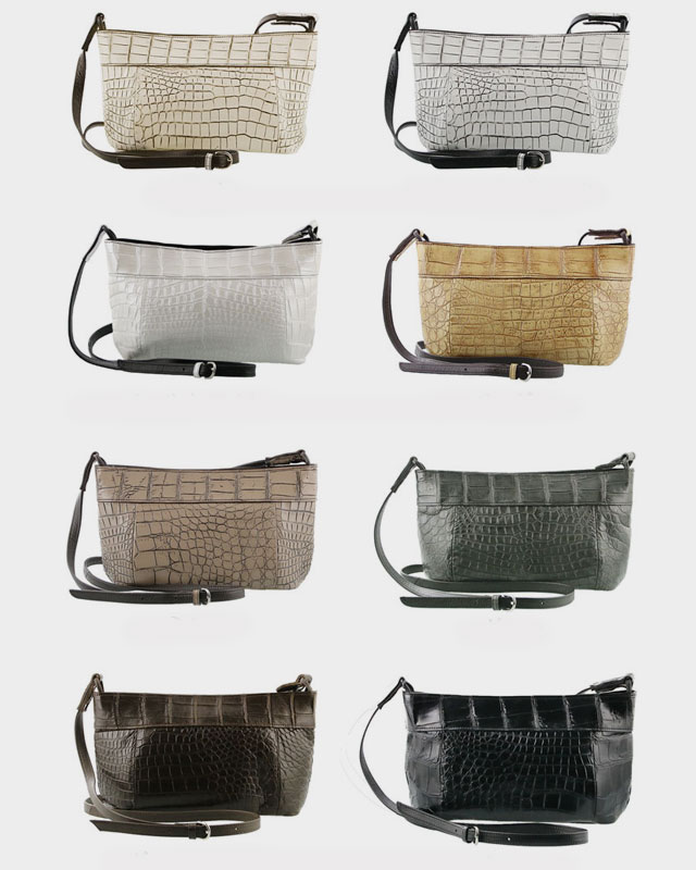 ショルダー バッグ クロコダイル 斜めがけ 日本製