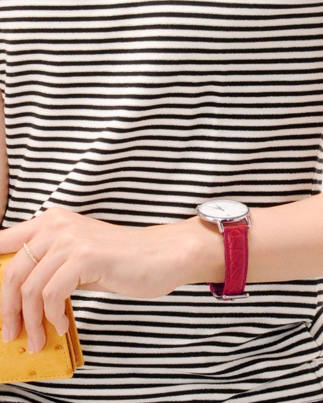 アリゲーター 腕時計用付け替えベルト 16mm
