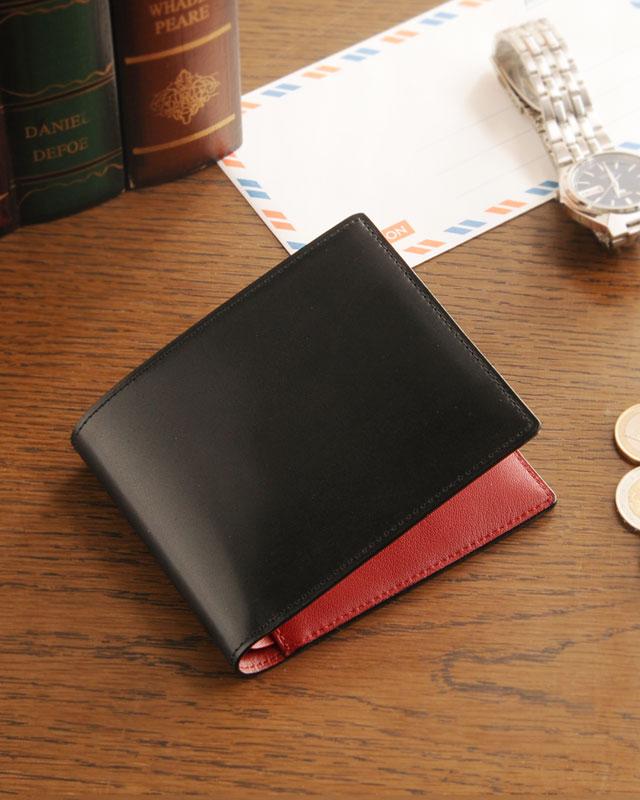 PRAIRIE/プレリー コードバン 両カード 二つ折り財布