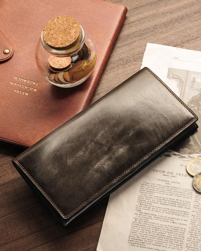 PRAIRIE/プレリー 英国製牛革 ブライドル レザー 長財布