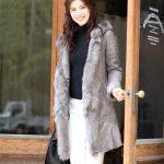 女性なら一度は憧れたことがある!最高の暖かさリアルムートンコート!
