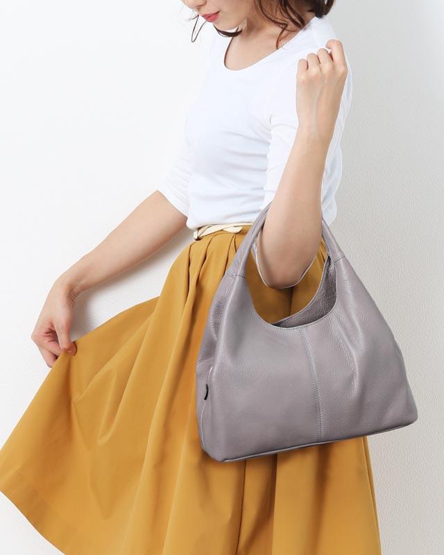 Jamale 日本製 牛革 ハンドバッグ