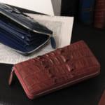 クロコダイル ホーンバック 長財布