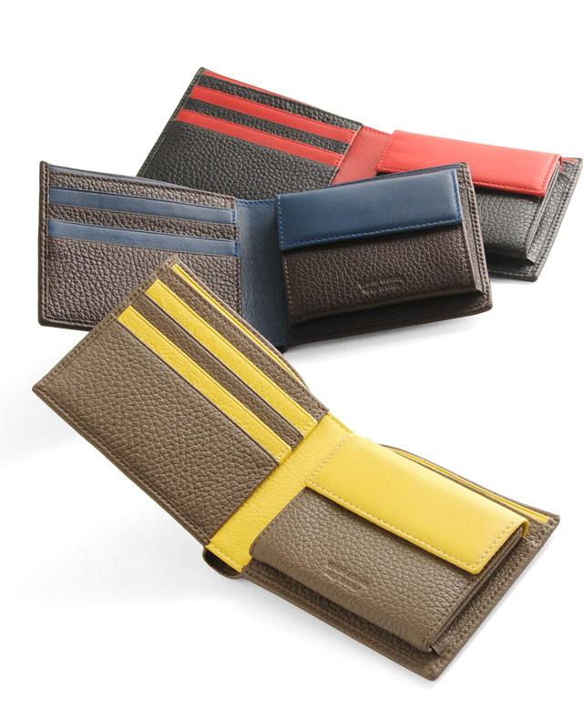 cromia 牛革 折り財布 2つ折り イタリア製