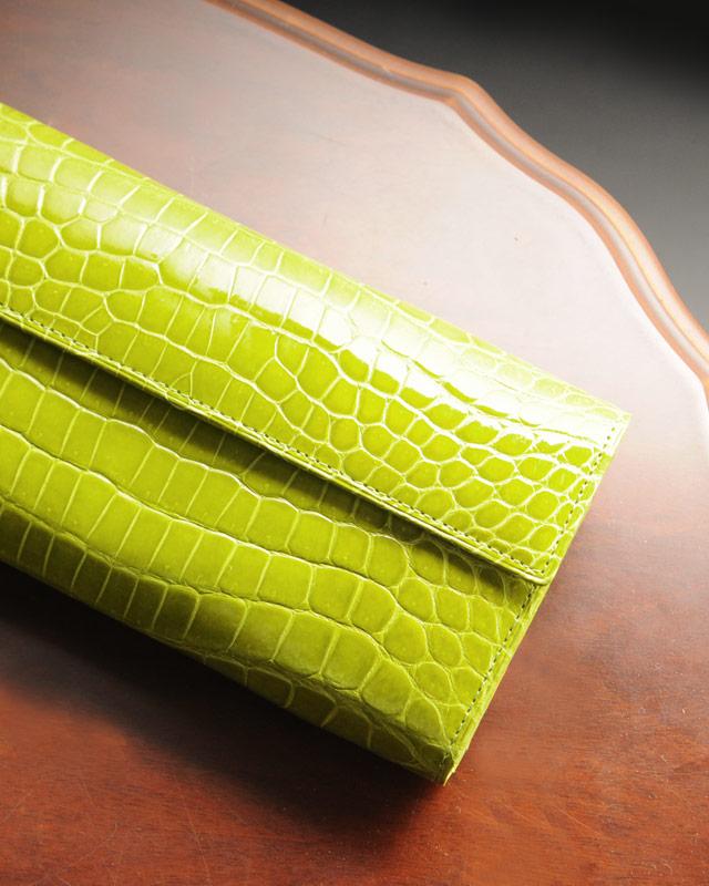 クロコダイル 長財布 レディース 日本製