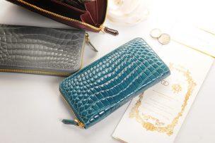 クロコダイル 財布 レディース
