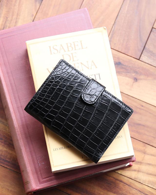 クロコダイル メンズ ミニ財布