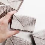 ヒマラヤクロコダイル 三つ折り財布