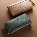 メンズ財布 ブライドルレザー