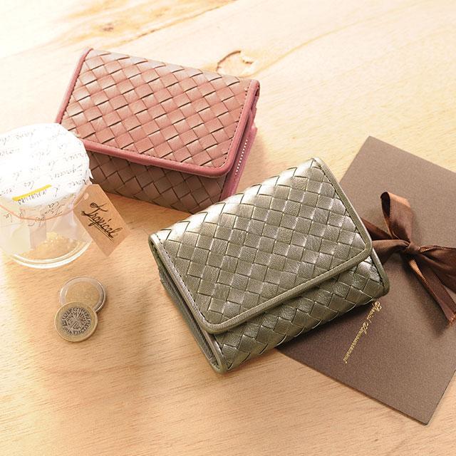 母の日 ギフト プレゼント 贈り物 ミニ財布 本革 実用的